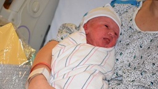 Binghamton's New Year's First Baby Born at 5:11 AM