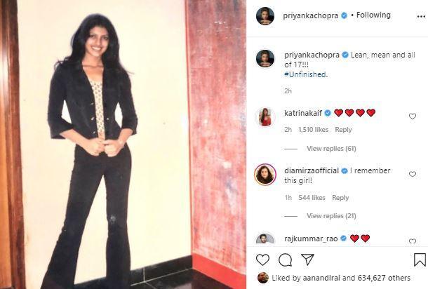 When Priyanka was 'lean, mean and all seventeen'