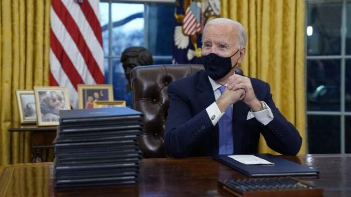 A 'very generous' letter was written by Donald Trump before leaving the White House: Joe Biden