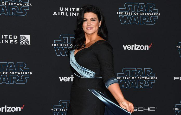 'Mandalorian' actor Gina Carano is no longer employed by LucasFilm following 'abhorrent' social media posts.