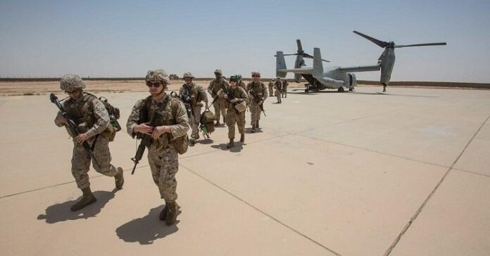 Ain al-Asad houses US and other foreign troops